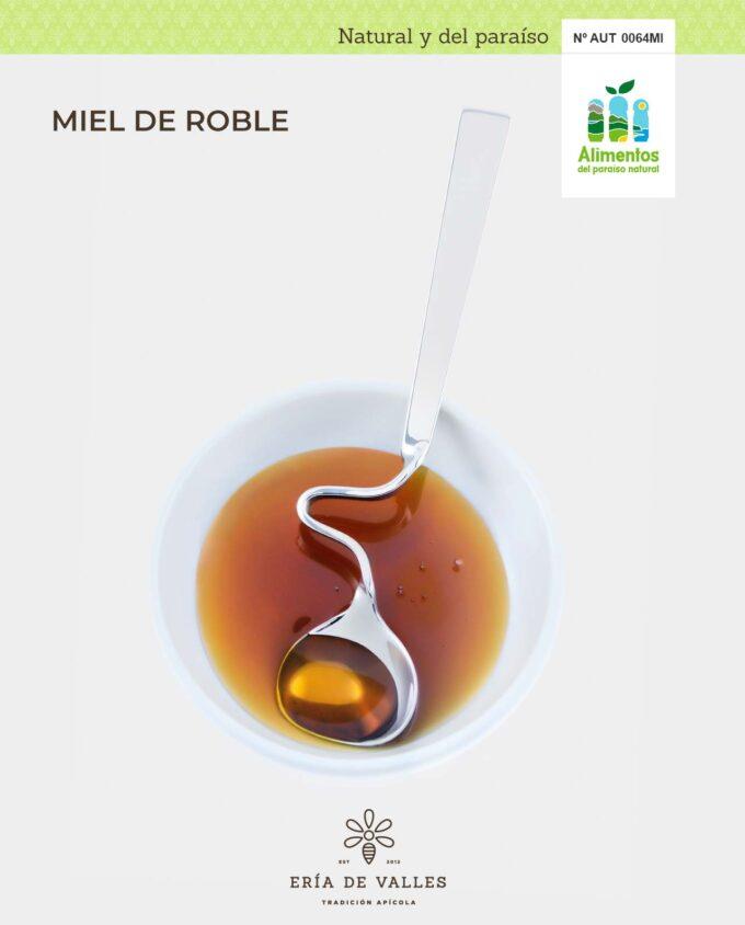 Miel natural de Roble muestra