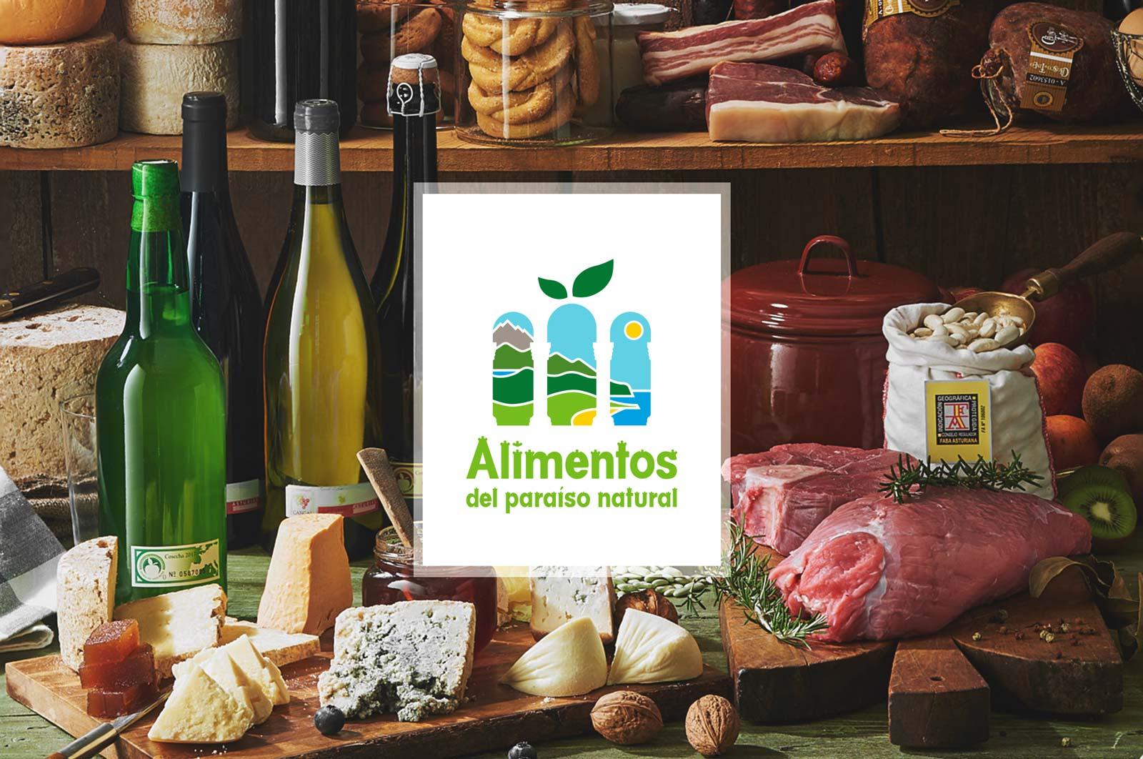 Alimentos del Paraíso, marca de calidad y origen de Asturias.